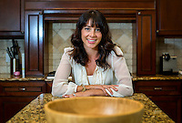 NWA Democrat-Gazette/JASON IVESTER <br /> Kristin Hvizda; photographed on Wednesday, Aug. 19, 2015, inside her Rogers home for nwprofiles spotlight on FARE (Food Allergy Research &amp; Education), a nonprofit focused on reducing risk for those with life-threatening food allergies. Hvizda is on the planning committee for the FARE Walk for Food Allergy