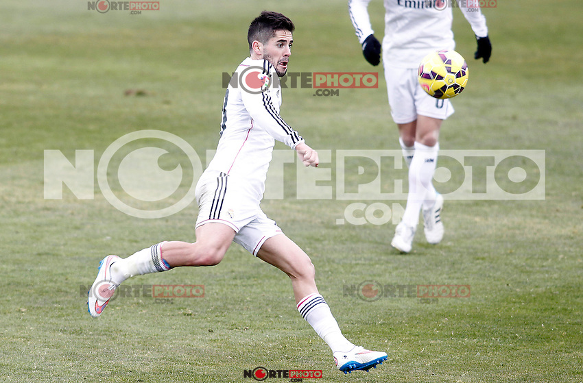 Real Madrid's Isco during La Liga match.January 18,2013. (ALTERPHOTOS/Acero) /NortePhoto<br />