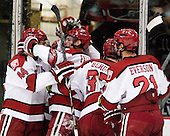 - The Harvard University Crimson defeated the visiting Bentley University Falcons 5-0 on Saturday, October 27, 2012, at Bright Hockey Center in Boston, Massachusetts.
