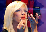 Tori Spelling Celebrates Q-Tips From Macy's Window In New York City