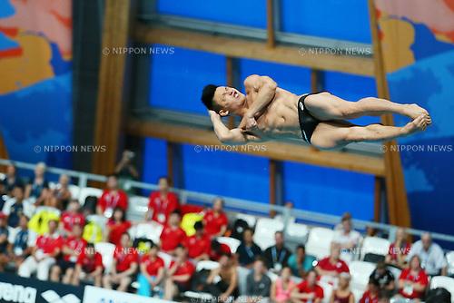 Ken Terauchi (JPN), JULY 30, 2015 - Diving : 16th FINA World Championships Kazan 2015 Men's 3m Springboard Semi-Final at Aquatics Palace in Kazan, Russia. (Photo by Yohei Osada/AFLO SPORT)