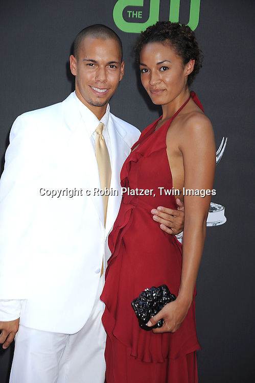 Bryton James and Ashley Leisinger