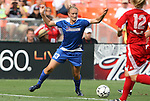 22 June 2008: Washington's Christie Welsh. The Washington Freedom defeated the Richmond Kickers Destiny 5-0 at RFK Stadium in Washington, DC in a United Soccer Leagues W-League friendly.