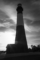 Tybee Lighthouse in Black and white