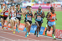 The Mens 3000m race at the Sainsbury Anniversary Games, Olympic Stadium, London England, Saturday 27th July 2013-Copyright owned by Jeff Thomas Photography-www.jaypics.photoshelter.com-07837 386244. No pictures must be copied or downloaded without the authorisation of the copyright owner.