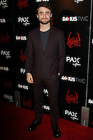 HOLLYWOOD, LOS ANGELES, CA, USA - OCTOBER 30: Daniel Radcliffe arrives at the Los Angeles Premiere Of RADiUS-TWC's 'Horns' held at ArcLight Hollywood on October 30, 2014 in Hollywood, Los Angeles, California, United States. (Photo by Celebrity Monitor)