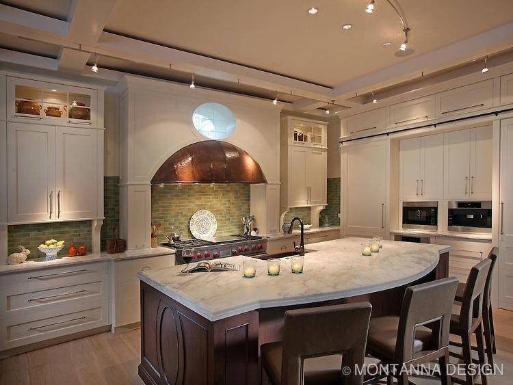 Classic Modern Kitchen Design Montanna Associates Interior Design