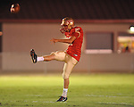 Lafayette High's Jake McPhail (21) punts vs. Shannon in Oxford, Miss. on Friday, September 14, 2012. Lafayette won 44-25 over Shannon to improve to 4-1.