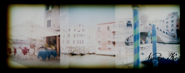 Holga film photographs shot in Venice, Italy