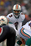 17 December 2006: Miami Dolphins quarterback Joey Harrington (3) in action against the Buffalo Bills at Ralph Wilson Stadium in Orchard Park, New York. The Bills defeated the Dolphins 21-0.. .Mandatory Photo Credit: Ed Wolfstein Photo<br />