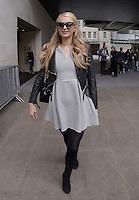 MAY 15 Paris Hilton at BBC Radio 1