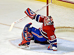 3 February 2007: Montreal Canadiens goaltender Cristobal Huet (39) of France in action against the New York Islanders at the Bell Centre in Montreal, Canada. The Islanders defeated the Canadiens 4-2.Mandatory Photo Credit: Ed Wolfstein Photo *** Editorial Sales through Icon Sports Media *** www.iconsportsmedia.com