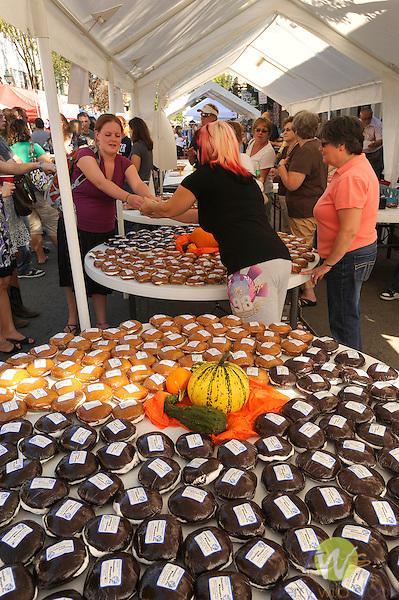 32nd Annual Selinsgrove Market Street Festival. Whoopee pie display.