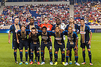 Philadelphia Union starting eleven. The New York Red Bulls and the Philadelphia Union played to a 0-0 tie during a Major League Soccer (MLS) match at Red Bull Arena in Harrison, NJ, on August 17, 2013.