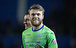 St Johnstone v Stenhousemuir&hellip;21.01.17  McDiarmid Park  Scottish Cup<br />A happy Zander Clark at full time<br />Picture by Graeme Hart.<br />Copyright Perthshire Picture Agency<br />Tel: 01738 623350  Mobile: 07990 594431