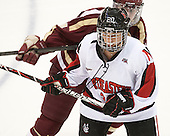 Chelsiea Goll (NU - 20) - The Northeastern University Huskies defeated Boston College Eagles 4-3 to repeat as Beanpot champions on Tuesday, February 12, 2013, at Matthews Arena in Boston, Massachusetts.