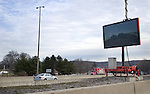 WATERBURY, CT. 06 January 2009-010609SV10--Informational signs like this one on I84 East at Exit 23 in Waterbury broadcast construction and Amber alerts will also start to broadcast Silver Alerts for missing seniors.<br /> Steven Valenti Republican-American