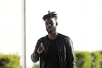 San Jose, CA - Saturday April 08, 2017: Simon Dawkins  prior to a Major League Soccer (MLS) match between the San Jose Earthquakes and the Seattle Sounders FC at Avaya Stadium.