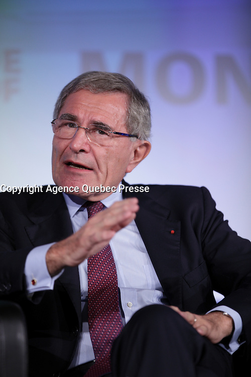 Gerard Mestrallet, <br /> Chairman of the Board, ENGIE  attend the 22nd edition of the Conference of Montreal, held June 13 to 15, 2016<br /> <br /> PHOTO : Pierre Roussel -  Agence Quebec Presse