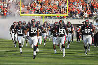 Virginia lost their home opener to William & Mary 26-14 at Scott Stadium in Charlottesville, VA. Photo/Andrew Shurtleff