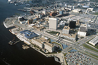 1983 March..Redevelopment.Downtown South (R-9)..VIEW LOOKING NORTHWEST...NEG#.NRHA#..