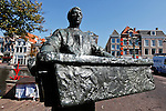 A Statue in Leiden, Holland