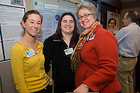Public Health Poster Session. Class of 2015. Alison Frizell, from left, Jordan Perlman, Jill Jemison.