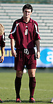 Boston College's Brendan Burke on Tuesday, November 8th, 2005 at SAS Stadium in Cary, North Carolina. The Wake Forest Demon Deacons defeated the Boston College Eagles 4-0 during their Atlantic Coast Conference Tournament Play-In game.