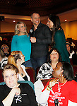 Sean Carrigan and fans - The Young and The Restless - Genoa City Live celebrating over 40 years with on February 27. 2016 at The Lyric Opera House, Baltimore, Maryland on stage with questions and answers followed with autographs and photos in the theater.  (Photo by Sue Coflin/Max Photos)