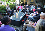 Atmosphere during The Drama League: Meet The Directing Fellows Hosted By Stewart F. Lane & Bonnie Comley at a private residence on May 15, 2017 in New York City.