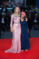 Suki Waterhouse, Ana Lily Amirpour at the premiere of The Bad Batch at the 2016 Venice Film Festival.<br /> September 6, 2016  Venice, Italy<br /> CAP/KA<br /> &copy;Kristina Afanasyeva/Capital Pictures /MediaPunch ***NORTH AND SOUTH AMERICAS ONLY***