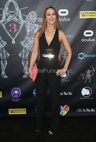 BEVERLY HILLS, CA - April 20: Nadia Jordan, At Artemis Women in Action Film Festival - Opening Night Gala At The Ahrya Fine Arts Theatre In California on April 20, 2017. Credit: FS/MediaPunch