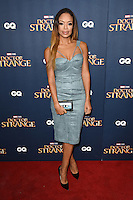 LONDON, UK. October 24, 2016: Sarah Jane Crawford at the &quot;Doctor Strange&quot; launch event at Westminster Abbey, London.<br /> Picture: Steve Vas/Featureflash/SilverHub 0208 004 5359/ 07711 972644 Editors@silverhubmedia.com