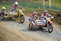 rechts HENDRICKX, Jan (BEL) und SMEUNINX, Tim (BEL) auf VMC-ZABEL, links WILLEMSEN Daniel (NED) und VAN GAALEN Kenny (NED) auf WSP-ZABEL