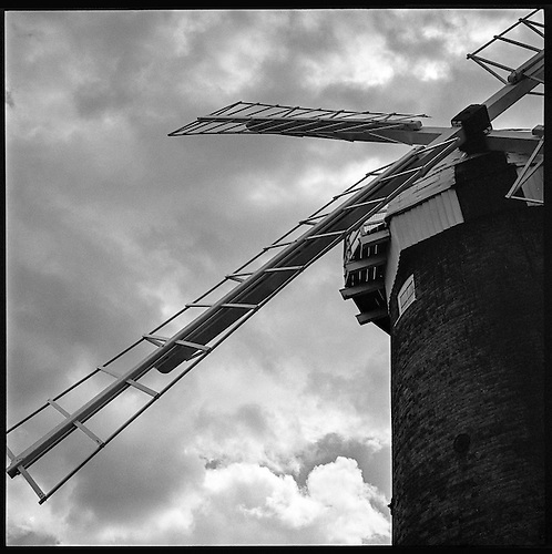 Horsey Windpump IX, Norfolk 2013 by Paul Cooklin