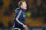 St Johnstone v Hearts.....18.01.14   SPFL<br /> Gary Locke shouts instructions<br /> Picture by Graeme Hart.<br /> Copyright Perthshire Picture Agency<br /> Tel: 01738 623350  Mobile: 07990 594431