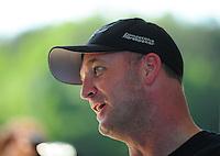 May 6, 2012; Commerce, GA, USA: NHRA top fuel dragster driver Bob Vandergriff Jr during the Southern Nationals at Atlanta Dragway. Mandatory Credit: Mark J. Rebilas-