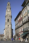 Clerigos Tower disigned by Nicolau Nasoni, Porto - Oporto, Douro Litoral, Portugal