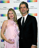 Actress Lily Rabe and actor Hamish Linklater arrive for the formal Artist's Dinner honoring the recipients of the 39th Annual Kennedy Center Honors hosted by United States Secretary of State John F. Kerry at the U.S. Department of State in Washington, D.C. on Saturday, December 3, 2016. The 2016 honorees are: Argentine pianist Martha Argerich; rock band the Eagles; screen and stage actor Al Pacino; gospel and blues singer Mavis Staples; and musician James Taylor.<br /> Credit: Ron Sachs / Pool via CNP