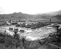 General view of the 3rd ROK Mobile Army Surgical Hospital, Wonju, Korea.  September 1951. (Army)<br /> Exact Date Shot Unknown<br /> NARA FILE #  111-SC-380826<br /> WAR &amp; CONFLICT BOOK #:  1455