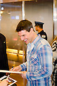 "Tom Cruise, Nov 30, 2011: Actor Tom Cruise arrives at Haneda Airport in Tokyo. Tom, along with actress Paula Patton and director Brad Bird will attend fan meeting event at Roppongi Hills on Dec 1 to promote their new film ""Mission: Impossible - Ghost Protocol.""  Tom is in Japan for 27 hours, during which he is to undertake several secret ""missions."" (Photo by Yumeto Yamazaki/ AFLO)"