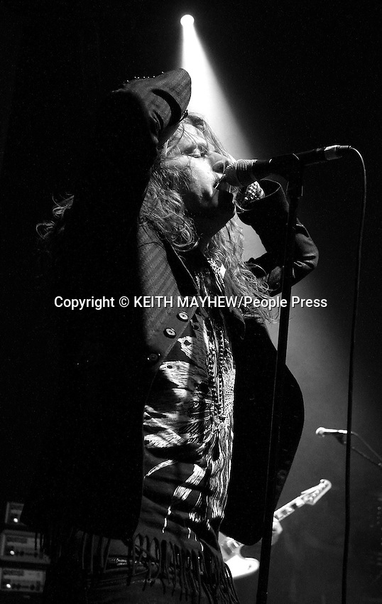 Rival Sons - Live, at the O2 Shepherds Bush Empire, London - April 9th 2013 ..Photo by Keith Mayhew
