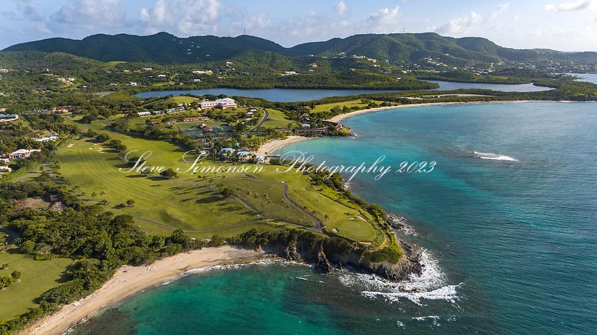 St. Croix Ironman 70.3<br /> Virgin Islands Buccaneer Resort aerial view<br /> Estate Shoys<br /> St. Croix<br /> US Virgin Islands
