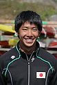 Hiroki Watanabe, .MARCH 29, 2012 - Canoeing : .2012 International Canoeing Competitions Selection Trial & The 22th Fuchuko Canoe Regatta, .Men's Kayak Double 200m Final at Lake Fuchu, Kagawa Japan. (Photo by Akihiro Sugimoto/AFLO SPORT)