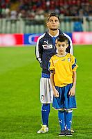 PESCARA (PE) 12/10/2012: QUALIFICAZIONE EUROPEI UNDER 21 ITALIA - SVEZIA. PARTITA VINTA DALL'ITALIA CON UN GOAL DI IMMOBILE. NELLA FOTO INSIGNE ITALIA  FOTO ADAMO DI LORETO