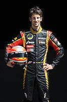 LOTUS RENAULT F1 FRENCH DRIVER,ROMAIN GROSJEAN. .Melbourne 16/03/2013 .Formula 1 Gp Australia.Foto Insidefoto.ITALY ONLY .Posato Ritratto Pilota