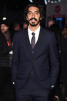 LONDON, UK. October 12, 2016:  Dev Patel at the London Film Festival 2016 premiere of &quot;Lion&quot; at the Odeon Leicester Square, London.<br /> Picture: Steve Vas/Featureflash/SilverHub 0208 004 5359/ 07711 972644 Editors@silverhubmedia.com