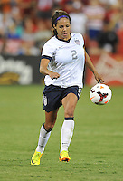 Sydney Leroux (2) of the USWNT. The USWNT defeated Mexico 7-0 during an international friendly, at RFK Stadium, Tuesday September 3 , 2013.