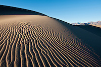 Mesquite Flat sand dunes, Stovepipe Wells, Death Valley national park, California