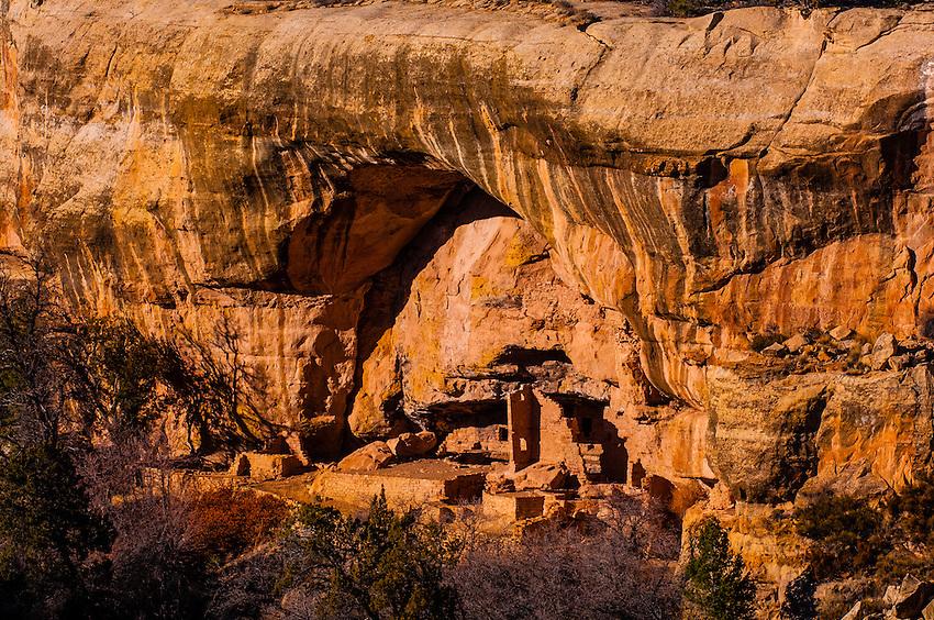Oak Tree House, Mesa Verde National Park, Colorado USA